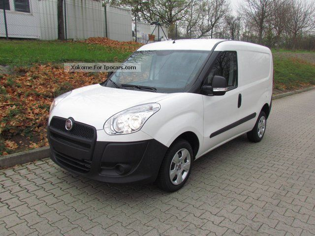 2012 Fiat  Doblo 1.3 MultiJet + sliding partition Van / Minibus Pre-Registration photo