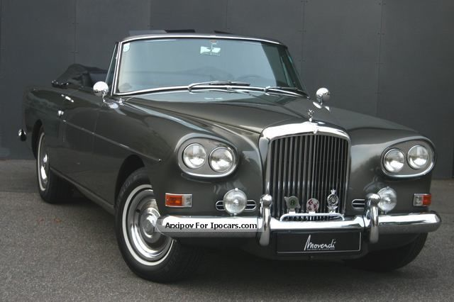 Bentley  S III Continental Drophead Coupé one of 27 1963 Vintage, Classic and Old Cars photo