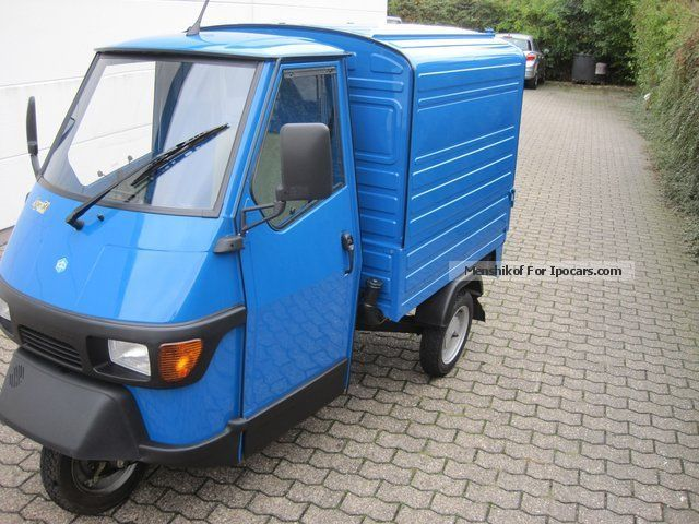 2013 Piaggio  APE box 50 * THE * WITH Werbetrï ¿Öğer heating Other Used vehicle photo