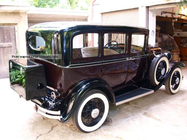 1931 plymouth 30u four door sedan full restored car