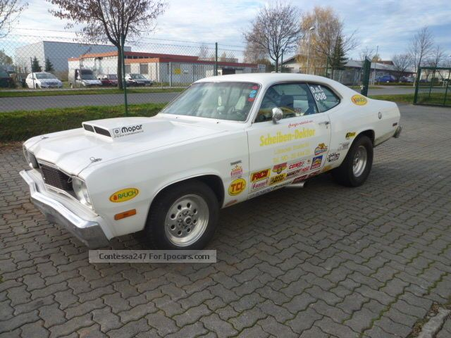 Plymouth  Duster Mopar, MSD, dragster 1975 Vintage, Classic and Old Cars photo