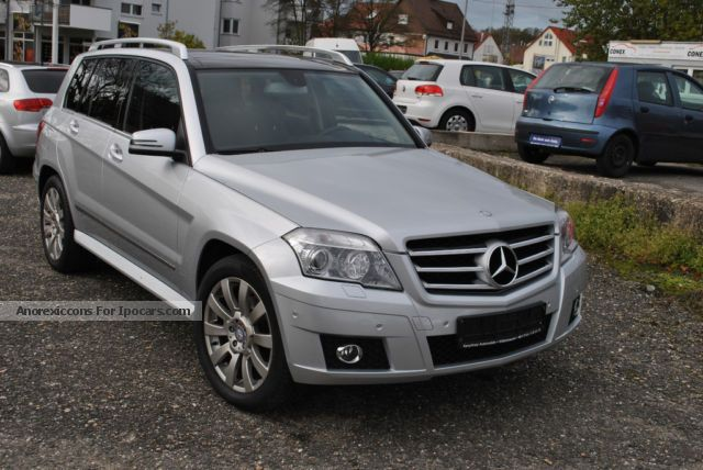 2009 mercedes benz glk 350 cdi dpf 4matic navi leather