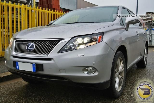 2011 Lexus  RX Hybrid Hi-Tech Off-road Vehicle/Pickup Truck Used vehicle photo
