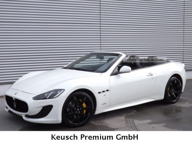 2013 Maserati Grancabrio Sport Car Photo And Specs