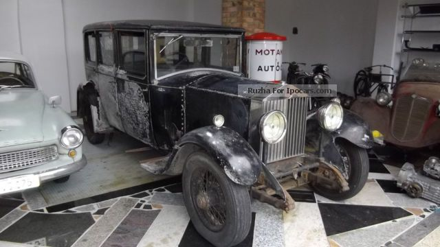 Rolls Royce  HP 20/25 MY 1931 Pullman - completely original 1931 Vintage, Classic and Old Cars photo