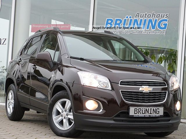 2013 Chevrolet  Trax 1.7TD LS + Bluetooth Cruise Control PDC Off-road Vehicle/Pickup Truck Used vehicle(  Accident-free) photo