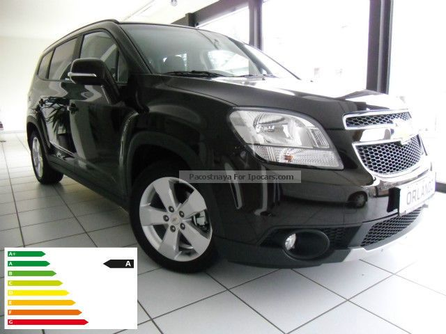 2012 Chevrolet  Orlando 2.0 LT TD / Navi / Model 2014 Van / Minibus New vehicle photo