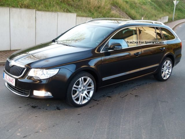 2010 skoda superb combi elegance 4x4 full navi xenon ahk car photo and specs. Black Bedroom Furniture Sets. Home Design Ideas
