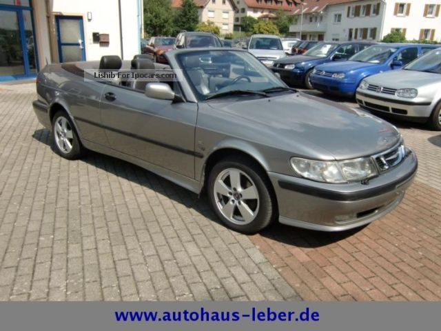 2003 Saab  T 9-3 Convertible 2.0i SE Air Leather Aluminum Wind Deflector Cabriolet / Roadster Used vehicle photo