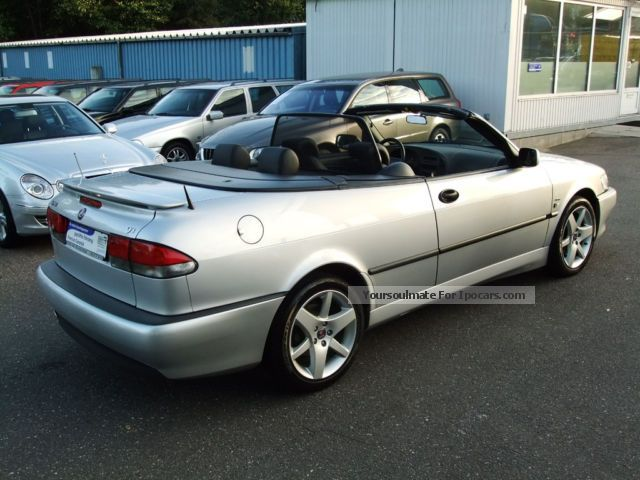2002 saab 9 3 turbo cabrio aero 1 hand navi memory car photo and specs. Black Bedroom Furniture Sets. Home Design Ideas