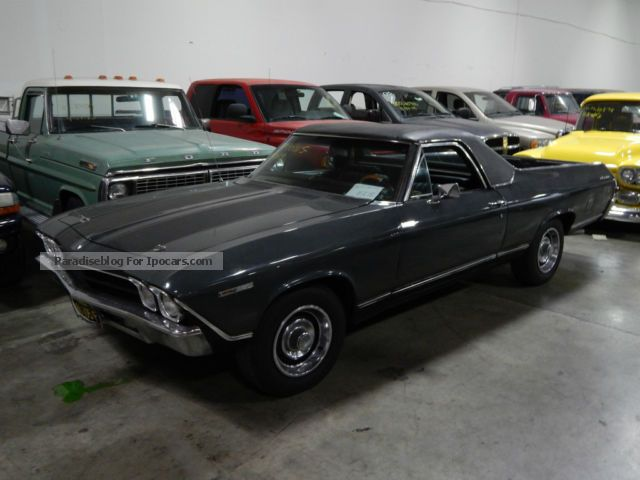 Chevrolet  El Camino 350 1969 Vintage, Classic and Old Cars photo