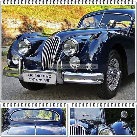 1957 Jaguar  XK 140 FHC SE, C-Type, AUT, LHD .... RARITY! Sports Car/Coupe Used vehicle(  Accident-free) photo