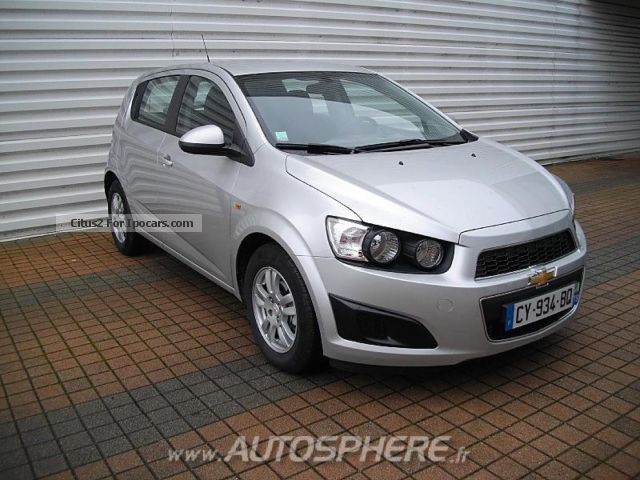 2013 Chevrolet  Aveo 1.2 LT 16v 86ch 5p Saloon Used vehicle photo