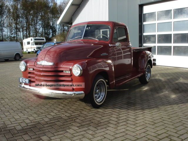 Chevrolet  Pick Up 3100 1953 Body Off rest How New Top 1953 Vintage, Classic and Old Cars photo