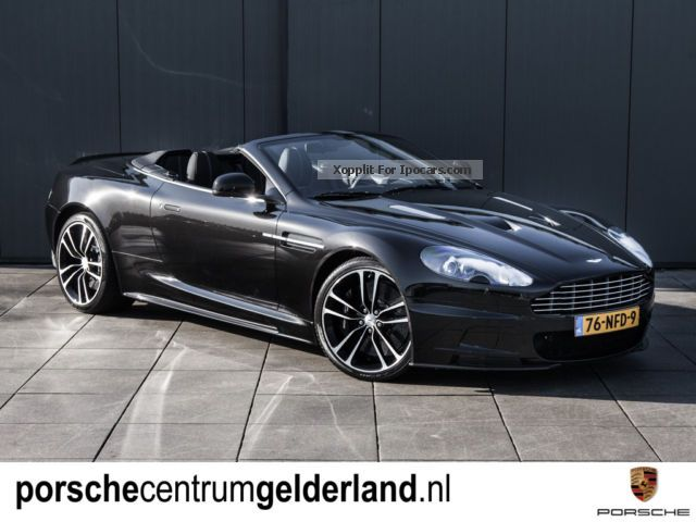 2012 Aston Martin Dbs Touchtronic Convertible Carbon Black Series Car Photo And Specs