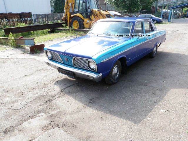 Plymouth  Valiant V6, CZ-authorization valid 1966 Vintage, Classic and Old Cars photo