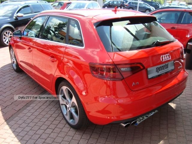 2013 audi a3 sportback 1 8 tfsi ambition s tronic panoramic car photo and specs. Black Bedroom Furniture Sets. Home Design Ideas