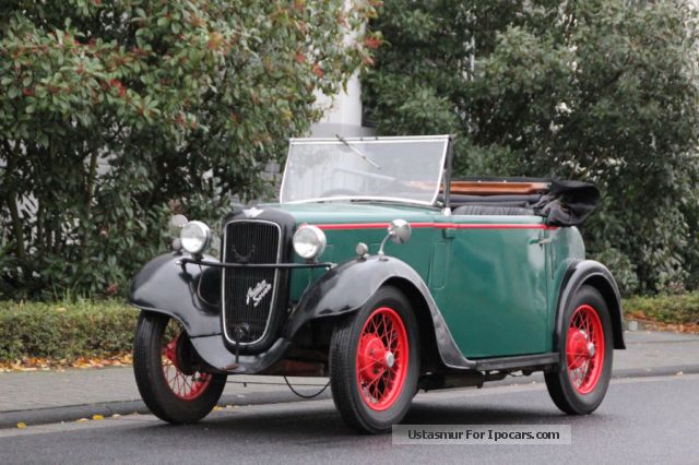 Austin  Seven Opal 1936 Vintage, Classic and Old Cars photo