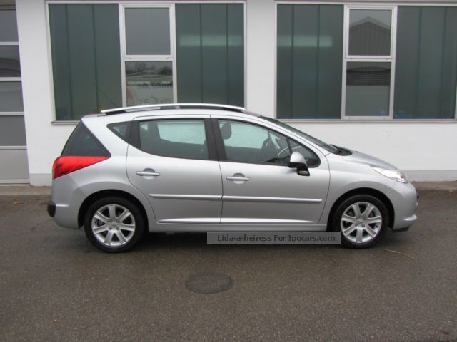 2009 peugeot 207 sw hdi fap 110 sport navi climate 8x car photo and specs. Black Bedroom Furniture Sets. Home Design Ideas
