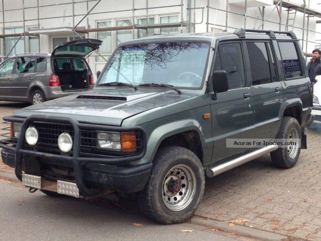 1991 isuzu trooper 2.8 td / heater / recaro / ahk - car photo and specs