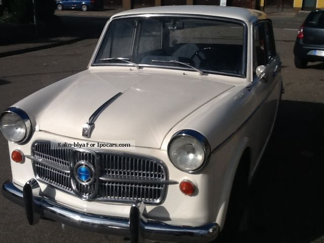 1961 NSU  Special Fiat Neckar Saloon Classic Vehicle (  Accident-free ) photo