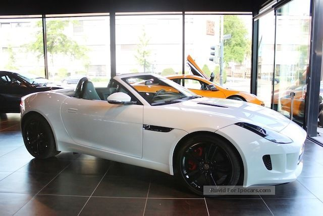 2012 Jaguar F Type S New Vehicle Cabriolet / Roadster Used Vehicle (  Accident