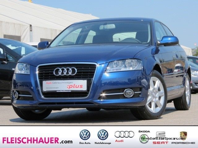2012 Audi  A3 1.4 TFSI Ambiente PDC GRA SHZ AIR BC Saloon Used vehicle photo
