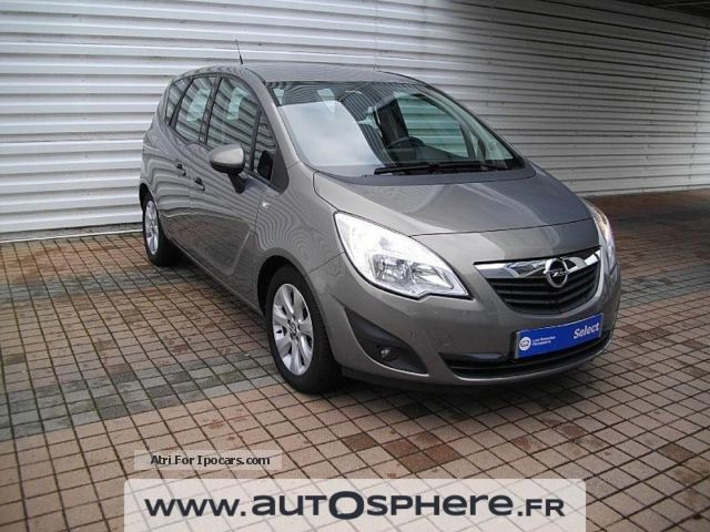 2013 Opel  Meriva 1.7 CDTI110 Business Connect S \u0026 S Saloon Used vehicle photo