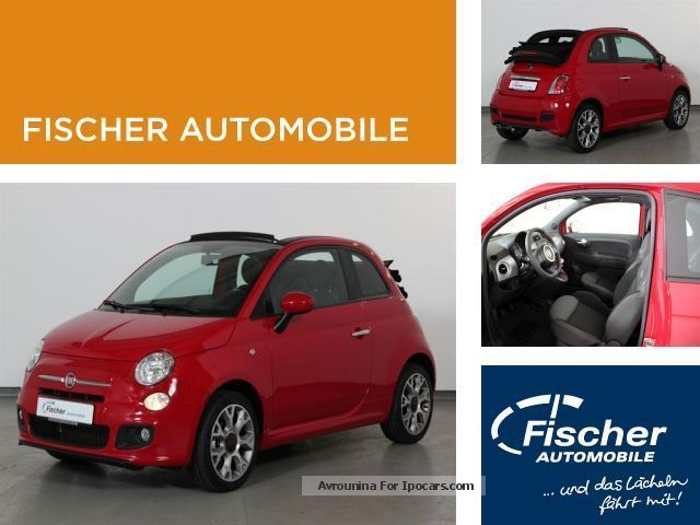 2013 Fiat  500 C 1.2 8V S Cabriolet / Roadster Used vehicle photo