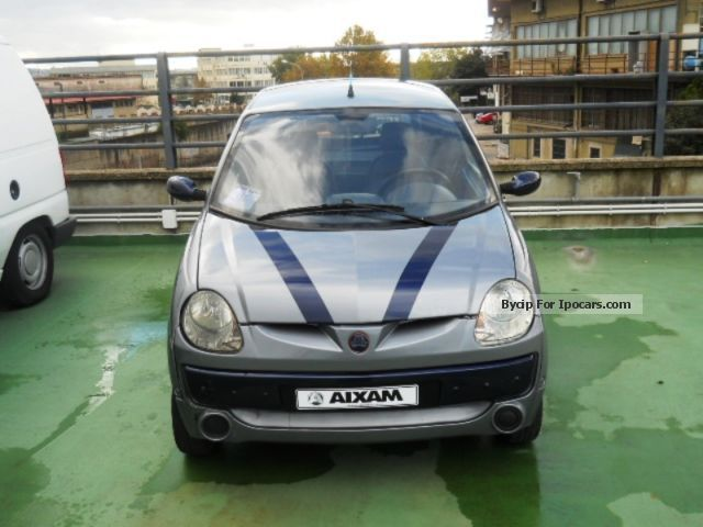 2007 Aixam  A. .741 Super Lusso Small Car Used vehicle photo