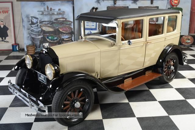 Buick  Sedan Model 128 4dr sedan 1927 Vintage, Classic and Old Cars photo