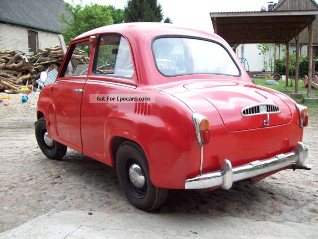 Other  Glass Goggomobil T250-01 Gogo Goggo 1964 Vintage, Classic and Old Cars photo