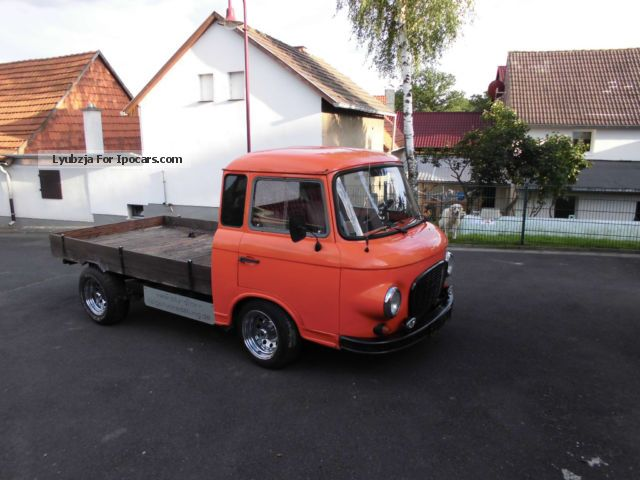 Wartburg  B 1000 flatbed 1971 Vintage, Classic and Old Cars photo