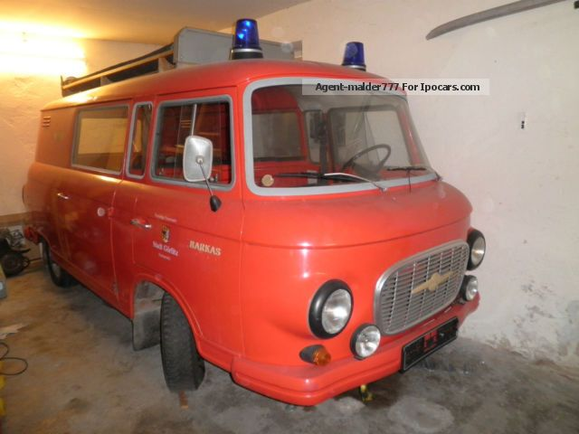 Wartburg  Barkas B 1000 Fire Brigade 1979 Vintage, Classic and Old Cars photo