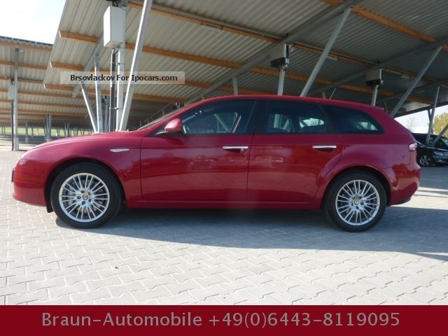 2010 alfa romeo alfa 159 sportwagon 2 4 jtdm 20v dpf automatic navi car photo and specs. Black Bedroom Furniture Sets. Home Design Ideas