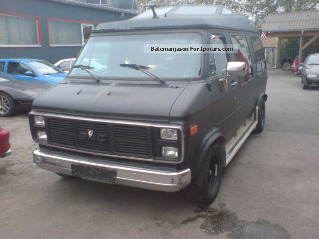 GMC  Vandura with gas plant 1987 Liquefied Petroleum Gas Cars (LPG, GPL, propane) photo