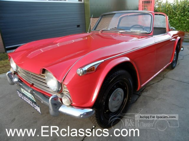 1967 Triumph  A IRS in 1967 with original surrey top Cabriolet / Roadster Classic Vehicle (  Accident-free ) photo