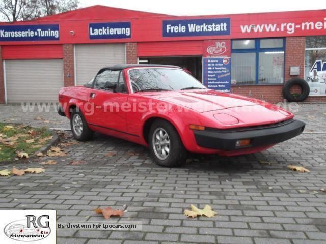 Triumph  TR7 Convertible 1979 Vintage, Classic and Old Cars photo
