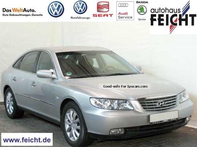 2006 Hyundai  Grandeur 3.3 V6 / leather / APS / Navi / Klima / Alu Saloon Used vehicle(  Accident-free) photo