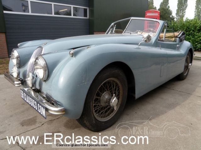 1954 Jaguar  120 DHC 1954 very original roadworthy Cabriolet / Roadster Classic Vehicle photo