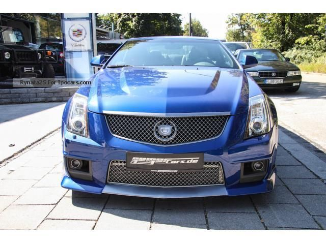 2012 Cadillac  CTS-V Coupe Geiger Tuning Sports Car/Coupe Used vehicle (  Accident-free ) photo