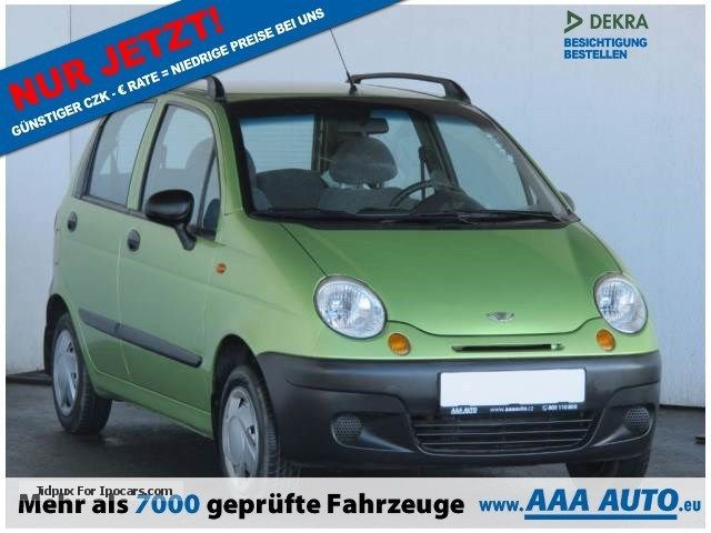 2002 Daewoo  MATIZ 0.8 2002 1.HAND, CHECKBOOK Small Car Used vehicle (  Accident-free ) photo