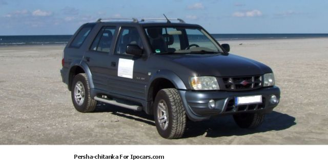 Landwind  SUV (Opel Frontera replica) 2006 Liquefied Petroleum Gas Cars (LPG, GPL, propane) photo