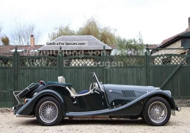 2006 morgan roadster 3 0 v6 convertible only 7680 km leather rhd car photo and specs. Black Bedroom Furniture Sets. Home Design Ideas