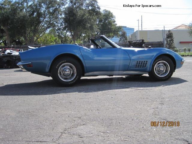 Corvette  C3 with 454er big block engine (365 Hp) 1971 Vintage, Classic and Old Cars photo