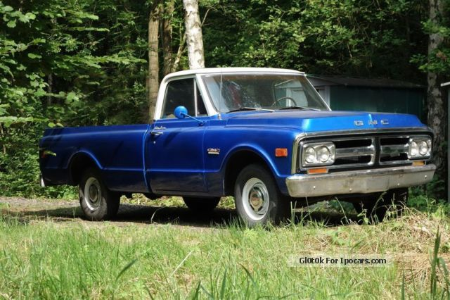 GMC  Chevrolet C1500 V8 Longebed 1969 Vintage, Classic and Old Cars photo