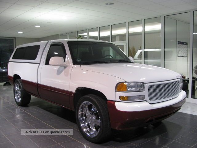 2000 gmc sierra 1500 sl truck approval air car photo and specs. Black Bedroom Furniture Sets. Home Design Ideas