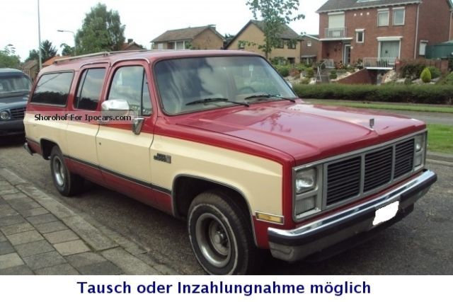 GMC  High Sierra Suburban 5.7 V8 LPG original condition 1975 Vintage, Classic and Old Cars photo
