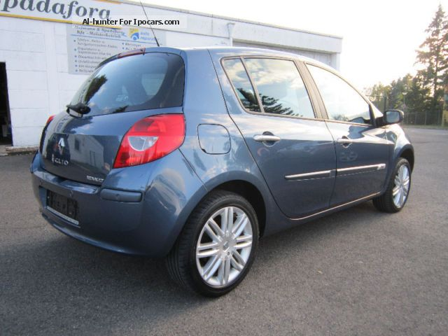2007 renault clio iii initiale 1 6 to 16 v car photo and specs. Black Bedroom Furniture Sets. Home Design Ideas