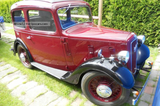 Austin  Seven Ruby Saloon de Luce 1935 Vintage, Classic and Old Cars photo